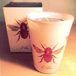 蜂キャンドル